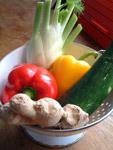Firsches Gemüse - Auswahl nach eigenem Gusto