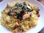 Curry mit Hähnchenbrust