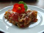 Diese Gemüse-Lasagne war wirklich lecker