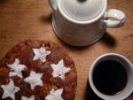 Kaffee und spanischer Apfelkuchen