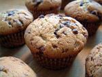 Fluffiger Schokoladen-Splitter-Muffin