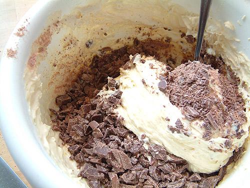 Kuchen mit nikolaus schokolade
