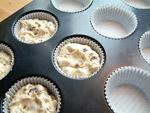 Muffinform zu 2/3 befüllen und ab in den Ofen