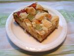 Rhabarberkuchen mit Butterstreusel