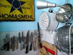 Ein Teil meiner Küche - die Messer
