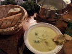 Fertig ist die Brokkoli Cremesuppe